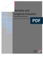 Mortality and Longevity Valuation