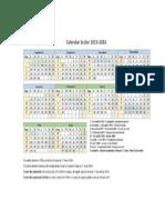 Calendar Sc Poza