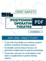 Patient Positioning in Operating Theatre
