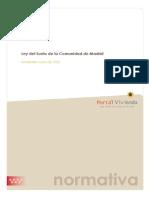 Ley Suelo Comunidad Madrid