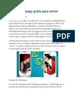Baixar Whatsapp Grátis Para Móvel