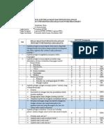 Check List Observasi Kepatuhan Petugas