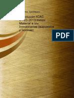 Resolucion ICAC 01032013 Inmov Material e Inv Inmobiliarias Supuestos y Normas