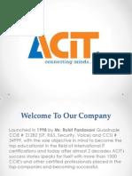 Best IT Training Institute |  ACIT Education Pvt Ltd