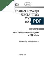 PROGRAM 001028 Misja Spoleczna