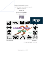 Brownies Fitness, Investigacion de Mercado (2)