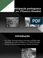 A participação portuguesa na Primeira Guerra Mundial