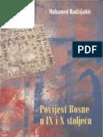 Muhamed Hadžijahić - Povijest Bosne u IX i X stoljeću