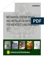 BUKU HIJAU(Mechanical System Design and Installation Guidelines for Architects and Engineers-2011)