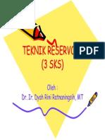 1061 Materi Kuliah Teknik Reservoir