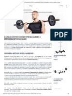 3 Consigli Di Professionisti Per Accelerare Il Rafforzamento Muscolare _ Domyos