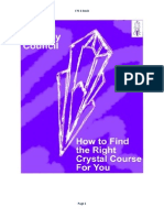 CTC How to Find the Right Crystal Course for You