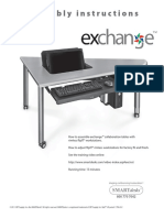 FlipIT® Classroom Workstation Assembly Guide By SMARTdesks