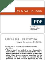 Servce Tax & VAT
