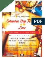 New Dorp Lane Columbus Day Event
