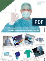 Material quirúrgico desechable