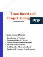 @Team Building and Project Management