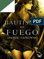 Bautismo de Fuego - Andrzej Sapkowski