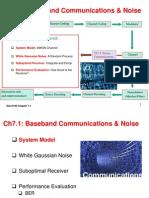 Elec3100 2014 Ch7.1 BasebandCommunicationsNoise