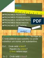 1- PRONOMES - INICIO