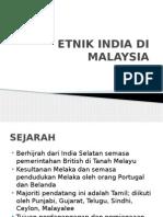 Etnik India Di Malaysia