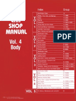 1977 Ford Car Shop Manual Volume 4 Body