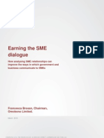 Earning the SME Dialogue