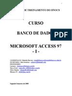 CURSO BANCO DE DADOS MICROSOFT ACCESS 97