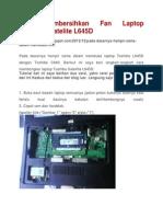 Cara Membersihkan Fan Laptop TOSHIBA Satelite L645D.pdf