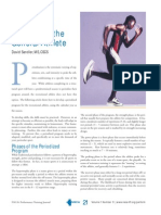 A Sample Program for Periodizing the General Athlete