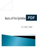 Basics of Fire Sprinkler Design KS