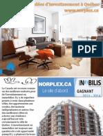 Les meilleures idées d'investissement à Québec