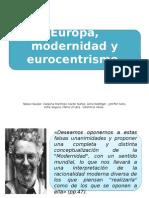 Europa, modernidad y eurocentrismo