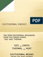 Geo Presentation