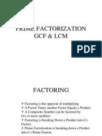 gcf lcm  1