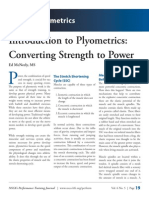 Introduction to Plyometrics - Converting Strength to Power