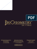 Introduction to BIOGEOMETRY