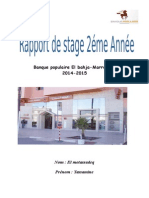 Rapport de stage 2 éme année bp