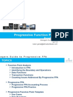 Progressive Function Point Analysis