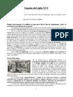 6. Preguntas Cortas. La España Del Siglo XVI
