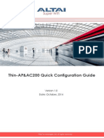 Thin-AP&AC200 Quick Configuration Guide_v1.0