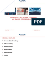 AP Basic Configuration Trainning_v1.4_201501