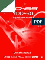 Yamaha DD65 YDD60 Owner's Manual