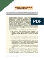 28051INSCRIPCIÓN DE LA CONSTITUCIÓN DE UNA ASOCIACIÓN