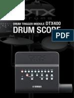 DTX_400 Drum Score Practice Grooves