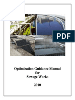 Ontario MOE Optimization Guidance Manual for Sewage Works
