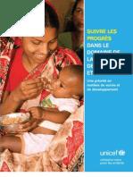 Suivre les progrès dans le domaine de la nutrition de l'enfant et de la mère