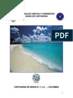 Regimen de Vientos y Corrientes Bahía de Cartagena