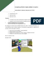 Rezolvare Subiect III- Model 2015