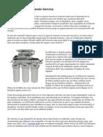 Tecnología De Osmosis Inversa